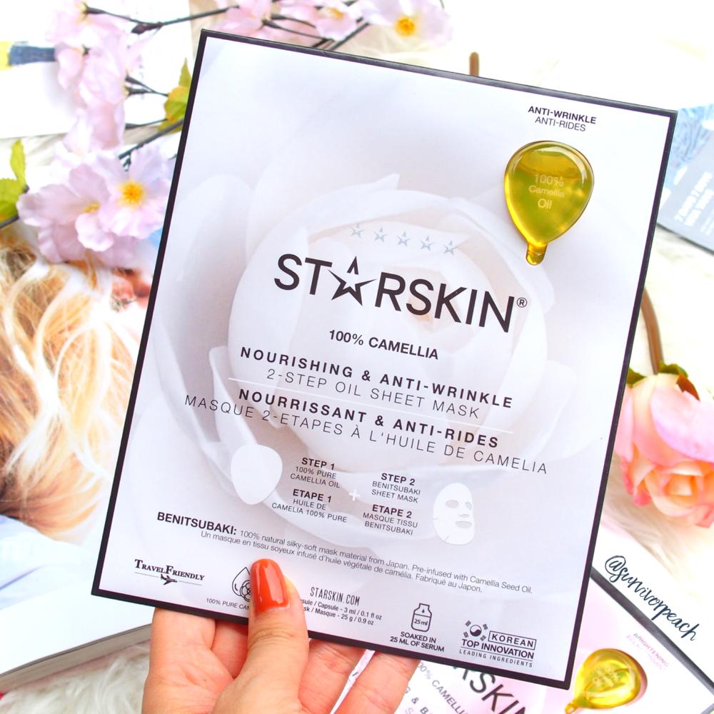 Starskin Nourishing & Anti-Wrinkle 2-Step Sheet Mask