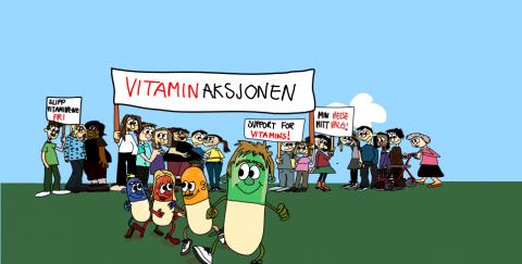 VITAMINAKSJONEN kjempet mot importforbudet som ble innført i 2015. og tok mange oss på sengen. Plutselig fikk vi ikke lov å kjøpe vitaminer på nettet! Heldigvis har vi ildsjeler som Turid Backer, som har vært i front for å få reversert dette.