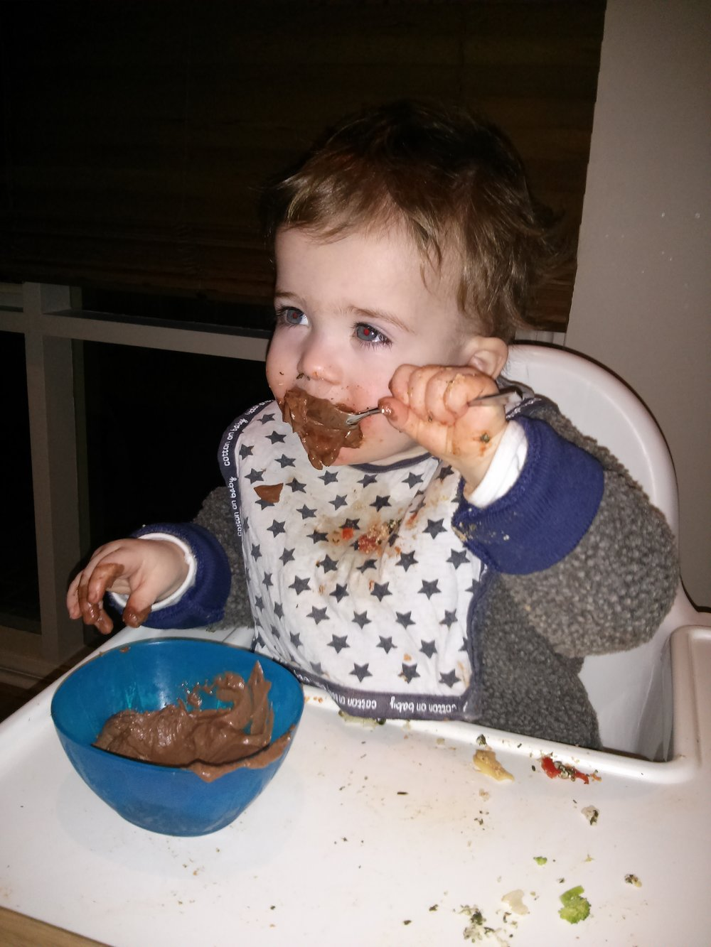 fussy eating toddler