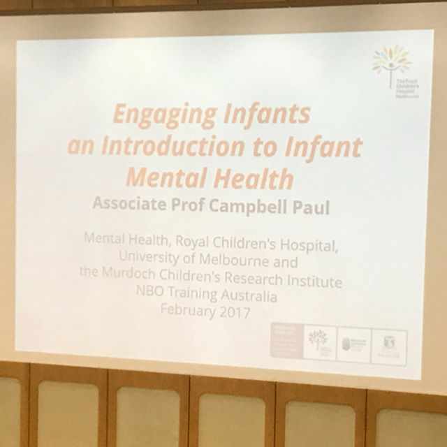 Brilliant two days of Infant mental health training at @rchmelbourne 🙌🏼