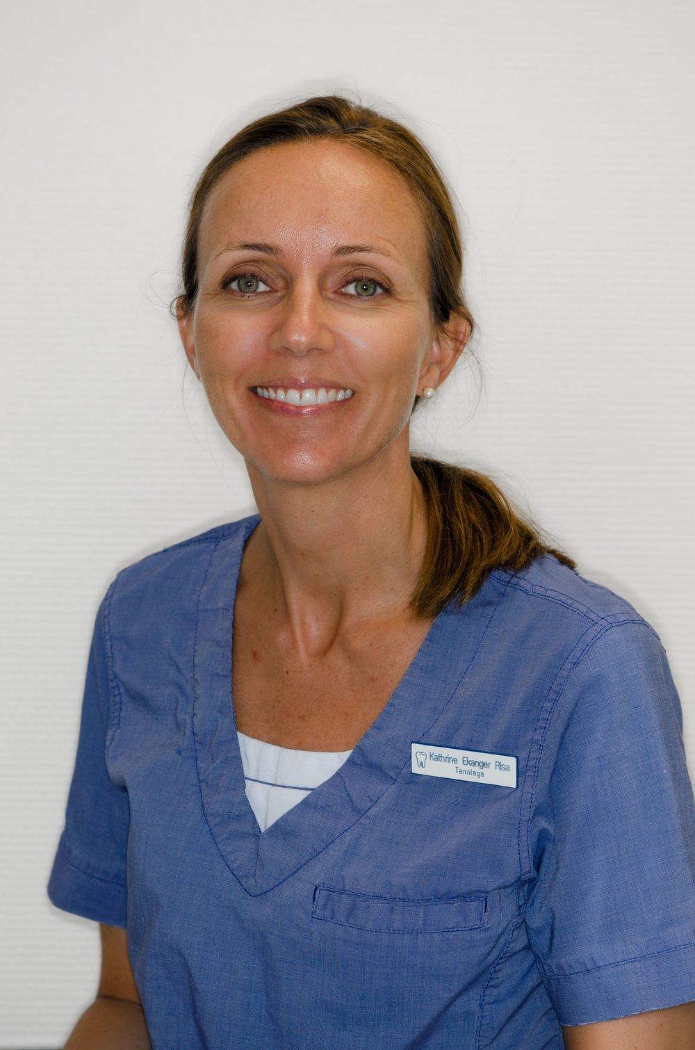 Tannlege Kathrine Ekanger Risa - spesialkompetanse implantatprotetikk
