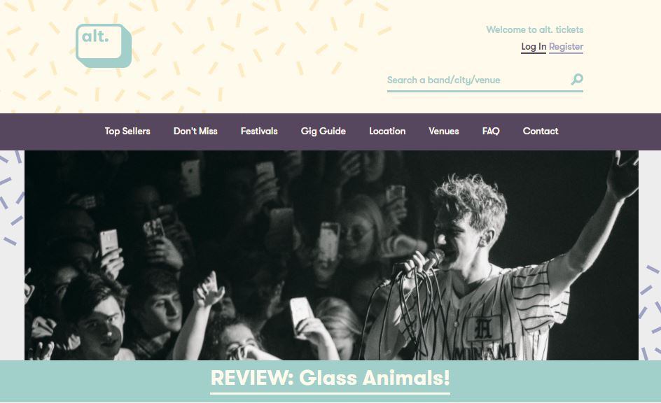 Glass Animals - ALT.Tickets