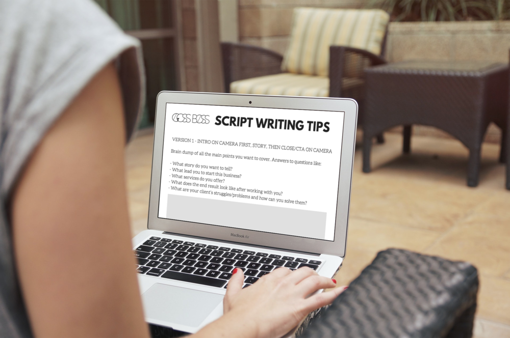 How To Write a Video Script - An introduction video is a great to way to build a relationship with your audience. Learn how to write the perfect script!
