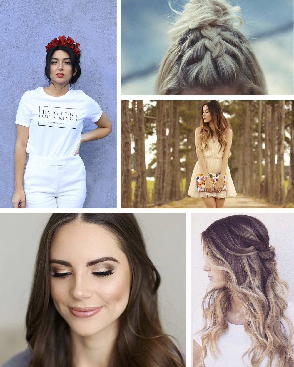 Mood board inspiration for Heather Burns of  Living on a Prayer apparel . Images pulled from Pinterest.