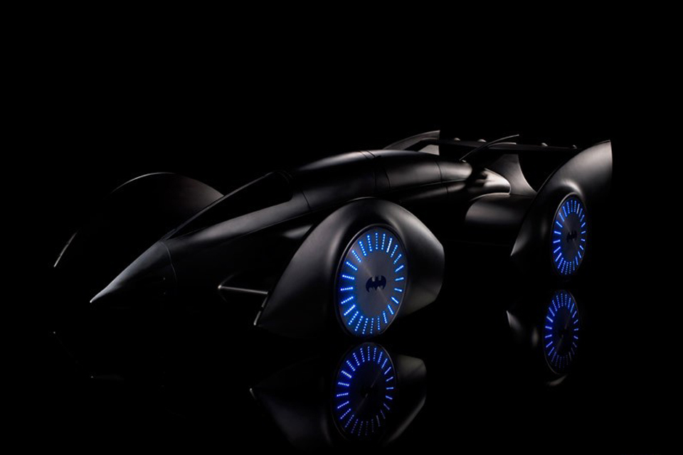 FI designer, Gordon Murray's superhero vehicle
