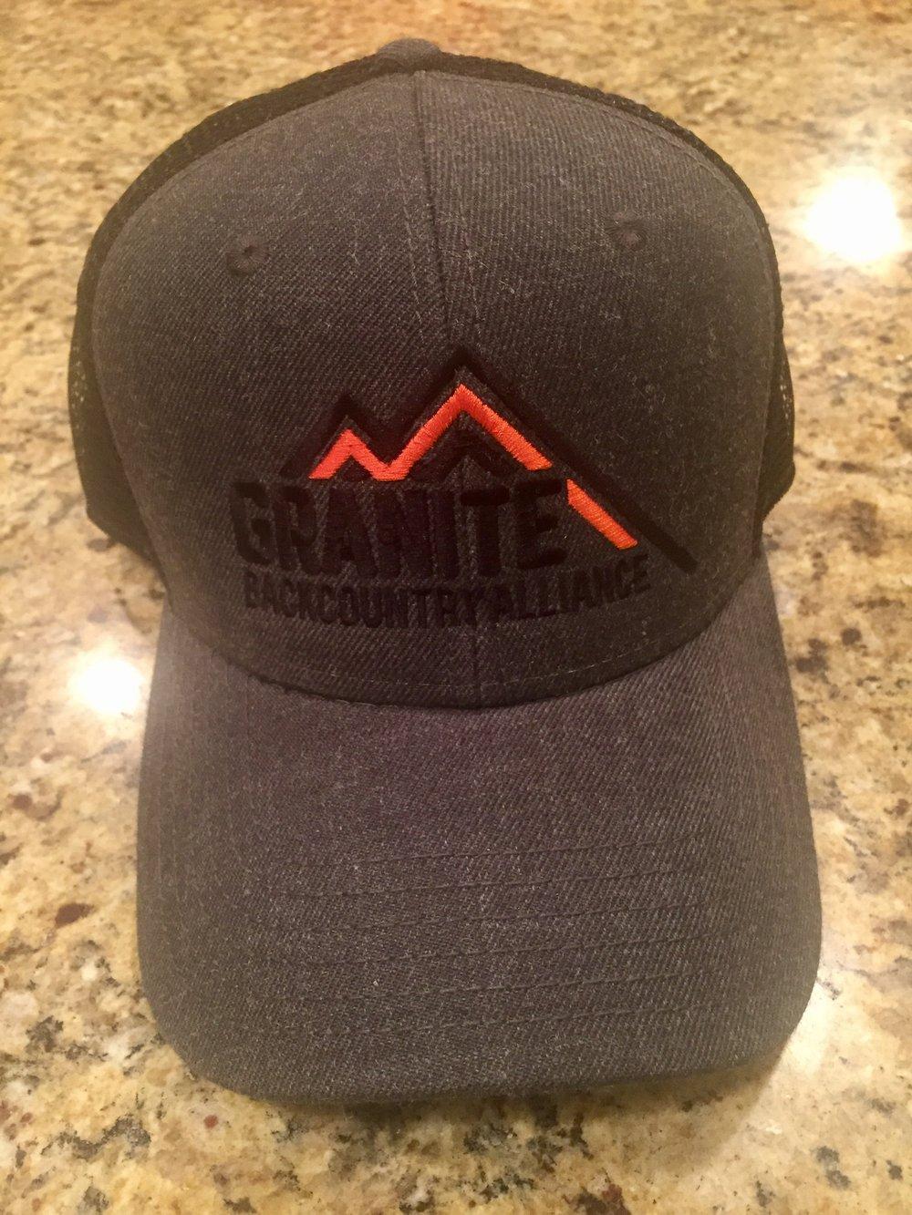 Granite BC Deep Trucker Hat — Granite Backcountry Alliance 362f656c18e