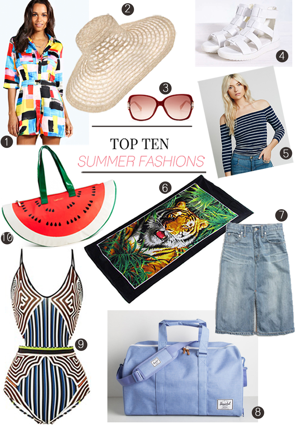 Top Ten Summer Picks