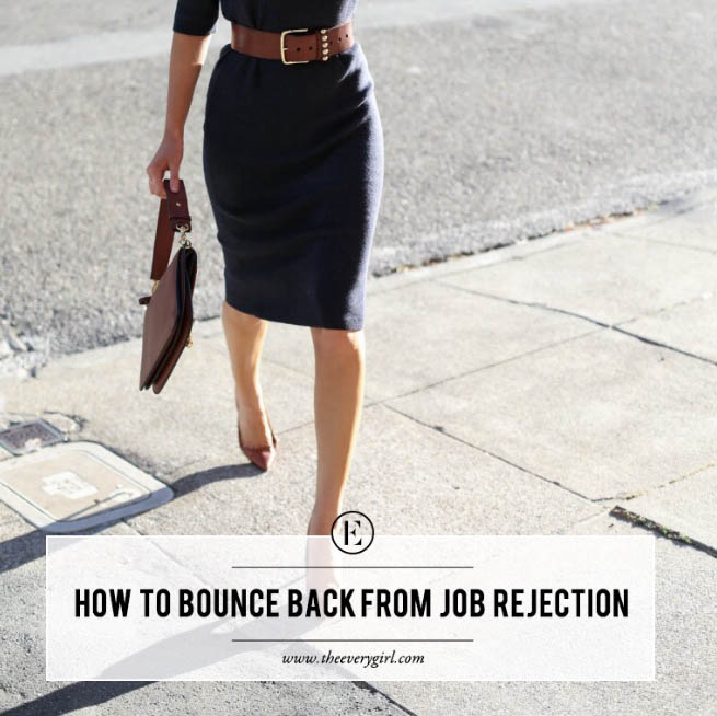 5 ways to bounce back from job rejection