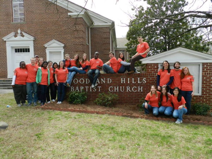 The Team of Cru at UConn Students that went to Atlanta, GA 2013.