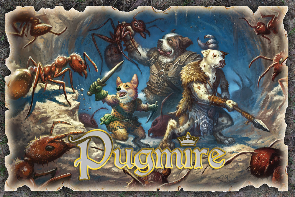 A variety of Pugmire posters for your wall