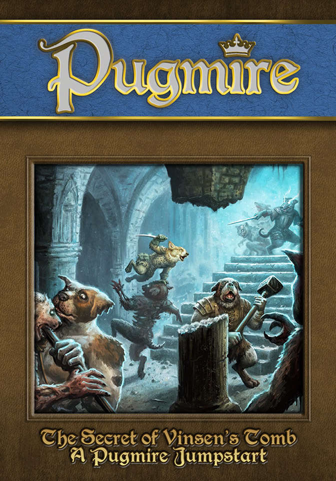 """Just want a taste of Pugmire? """"The Secret of Vinsen's Tomb"""" will jumpstart your Pugmire game!"""