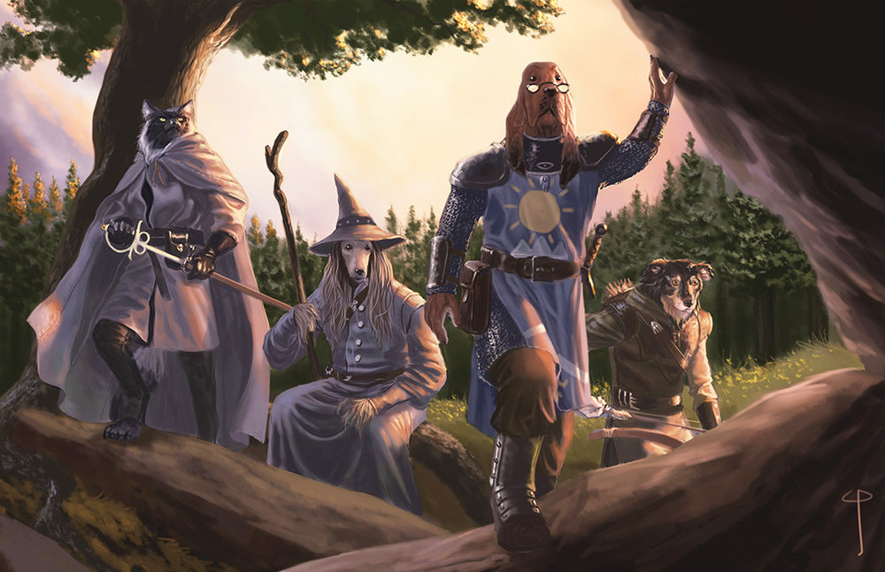 Dogs have inherited the world, building the kingdom of Pugmire untold centuries after the Ages of Man are over. These dogs have been uplifted to use tools and language, and they seek to rediscover the ruins of the Old Ones.