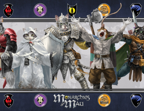 Mau  Storyguide Screen to hide your secrets from curious cats!