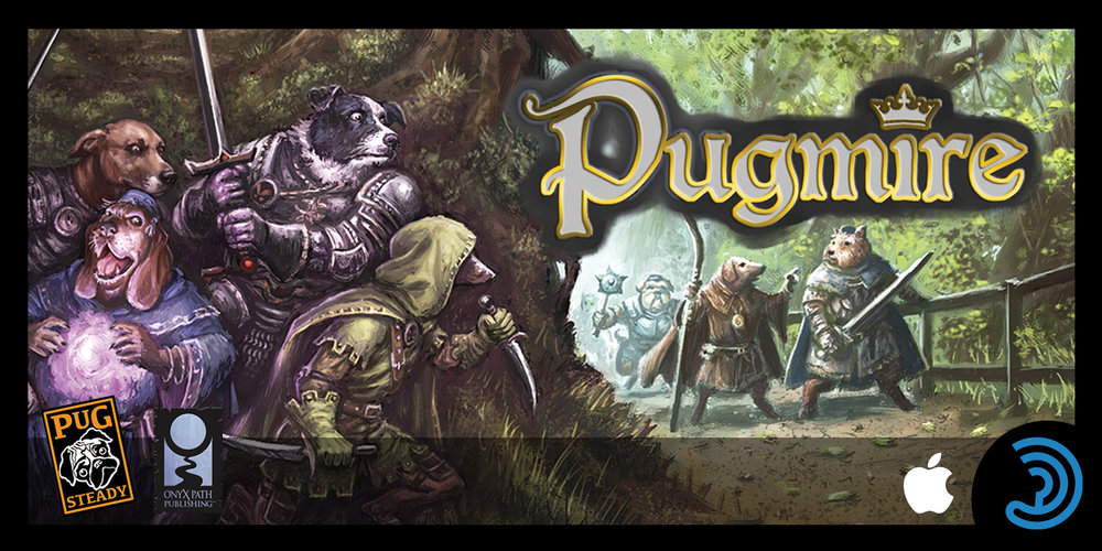 Pugmire: Friends and Enemies  is an INTERACTIVE audio drama adventure, available on Earplay!