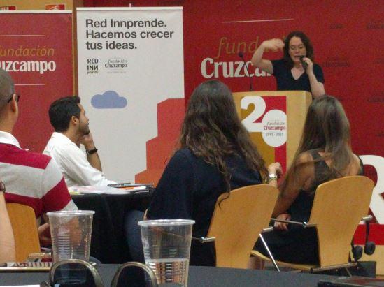 Octubre 2016 Taller de experimentos y tutorías en la tercera  edición del programa   Red INNprende    de   Fundación Cruzcampo