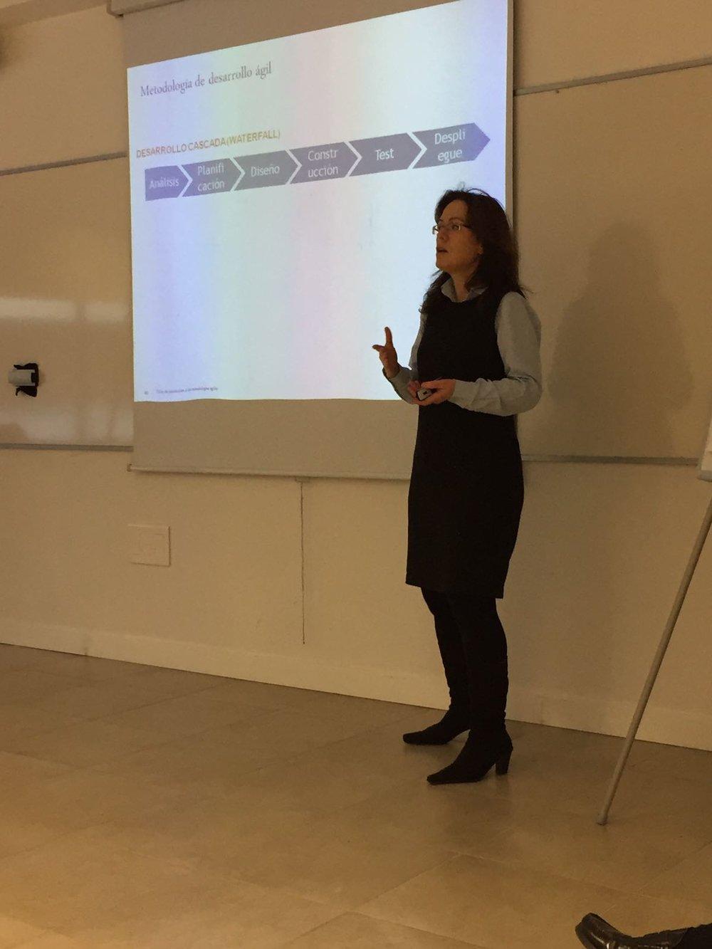 Enero 2017,Taller de introducción a la las metodologías ágiles,  Universidad Francisco de Vitoria UFV