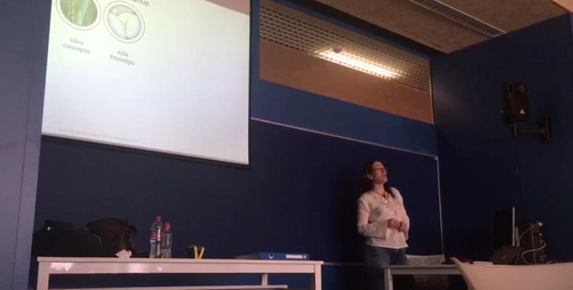 Mayo 2017, Clase de introducción al Lean en el Máster de Dirección de Empresas de la  Universidad Pablo Olavide,  en Sevilla