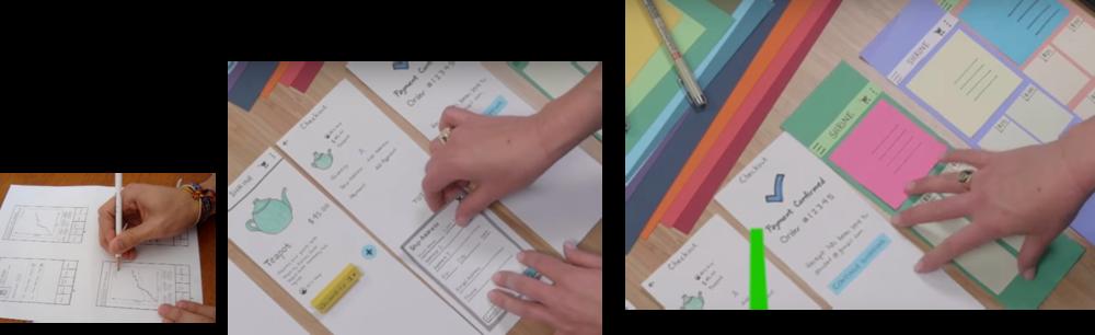 Imágenes secadas del vídeo de Google Rapid Prototyping