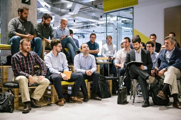 Participantes del programa Acciona Open Innovation 2017 en el que ejerzo como Scrum Master de dos proyectos