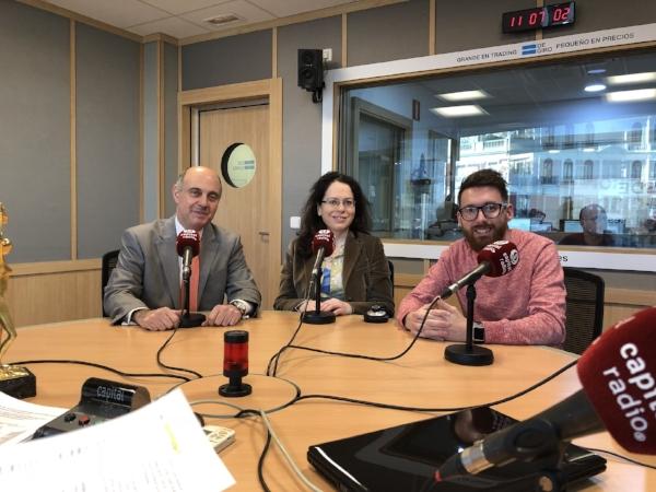 En el programa de Mentoring con Alejandro Valero 8BuscoExtra), Luis Vicente Muñoz y Julio Rodríguez Díaz
