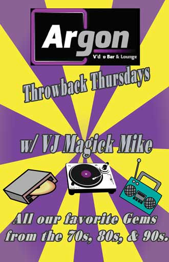 VJ Q spinning some of your favorite classics from the 70s - 90s.