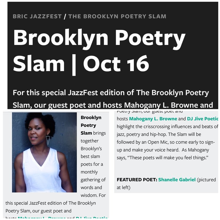 upcoming show brooklyn poetry slam bric arts jazzfest edition 10