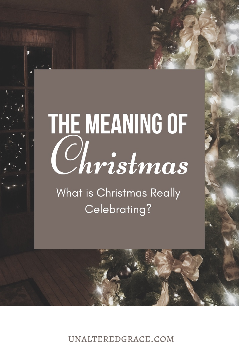 The Meaning of Christmas What are we really celebrating?