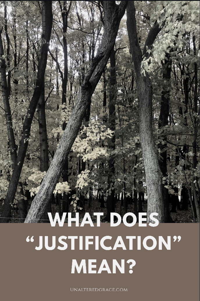 theology what does justification mean