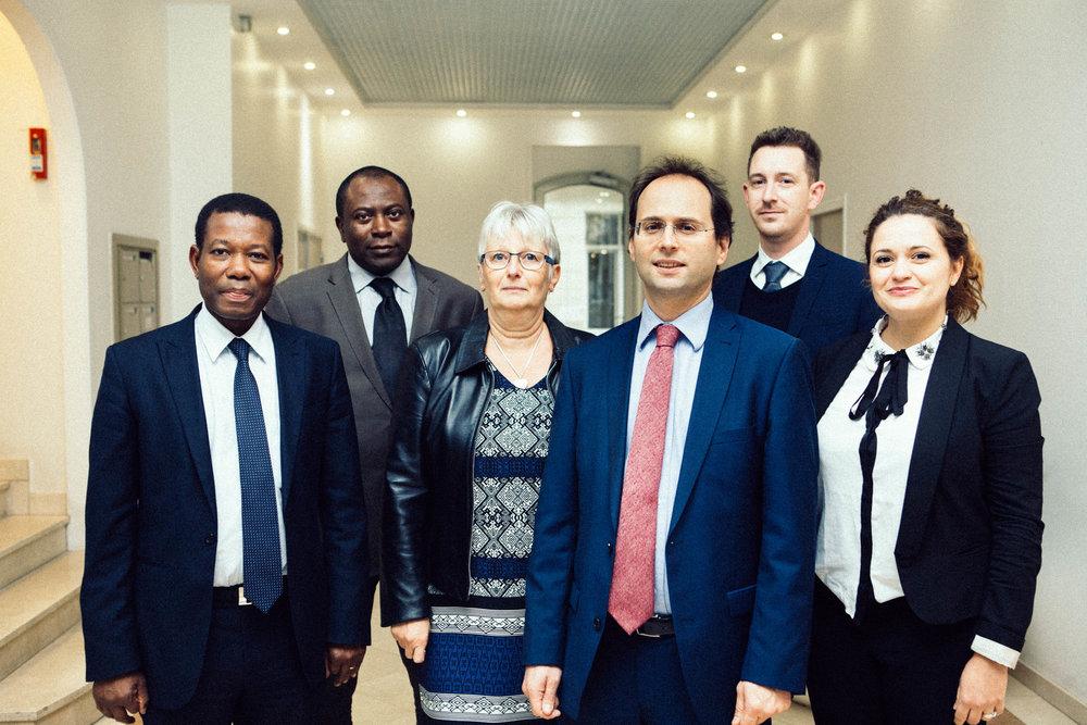....Les managers du Cabinet Spira Twist & Associés.. Spira Twist & Associates Management Team....