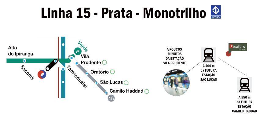 linha 15 - prata - monotrilho