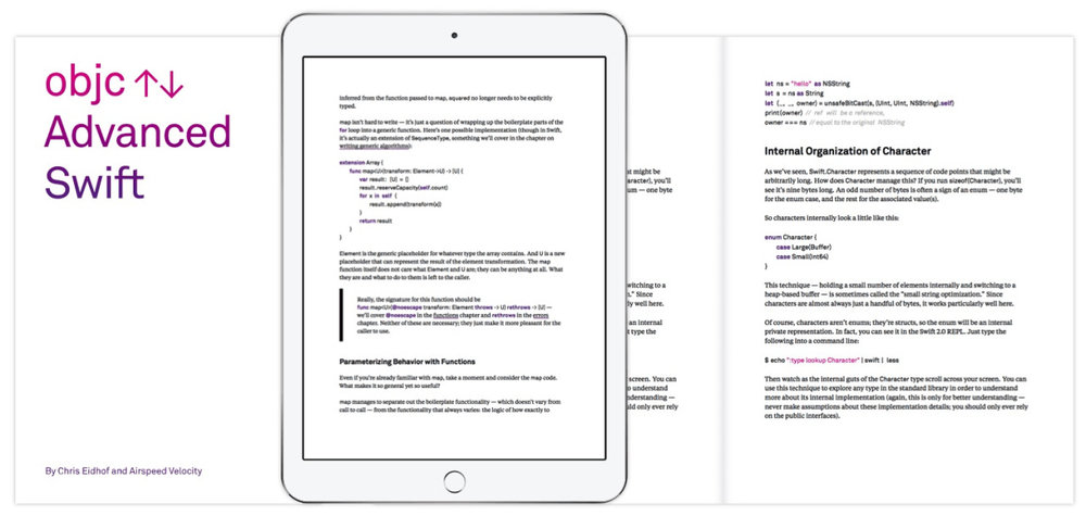 OBJC.IO Advanced Swift Copy editor for a book about advanced programming in Swift.