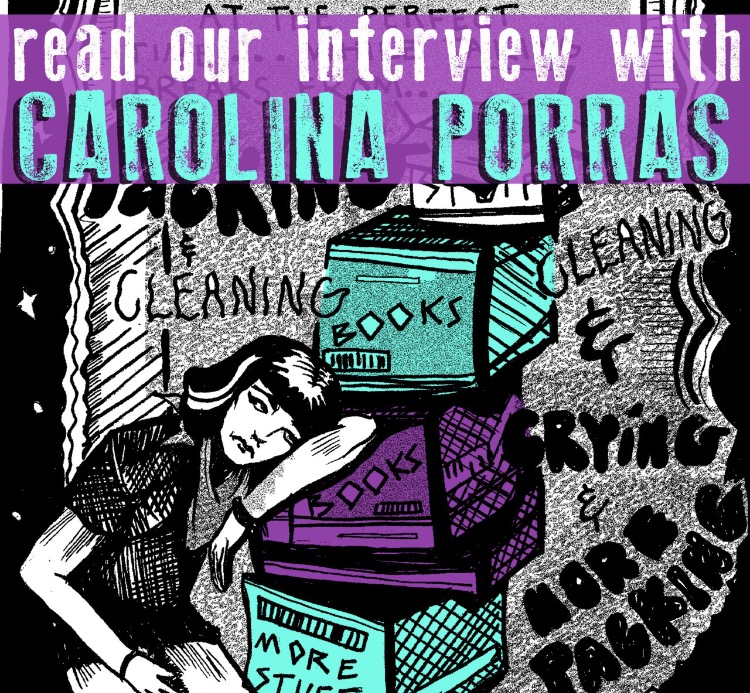"SILVER SPROCKET Interview with Carolina Porras Carolina Porras' contribution to As You Were: Living Situations is more than just a comic; it's a goodbye of sorts. After three years in San Francisco, she recently relocated to Gainesville, Florida (where the high today is 80 degrees). Keep reading to find out how Florida's nature, architecture, and obsession with tourism inspire her. Interview by Natalye for Silver Sprocket Tell us about yourself and about Toaster. How did you get involved in AYW? I just moved back to Gainesville, FL, after living in San Francisco for three years. In San Francisco, I worked at Ritual Coffee Roasters where I met the amazing Avi. A friendship blossomed and he asked me to contribute to this AYW, which was perfect timing for my big move across the country. Now that I am back in Florida I have been working on murals, crocheting like a grandma on speed, biking around, and spending ample time with Toaster. So speaking of Toaster, I adopted her here in Gainesville four years ago at a feral cat shelter. She is the snuggliest weirdo cat ever and has been very patient with her mom, traveling from state to state with me while I figure out where to live. You've said you've been drawing all your life; when did you decide it's what you wanted to ""do"" with your life? What is your process like? I remember in the fifth grade Tiffany Wang was drawing flowers on all the girls' backpacks, and I was like, ""Woah, teach me how to draw a flower; I want to learn how to draw cool flowers."" And that feeling never stopped. I wanted to learn how to draw everything I could since that point. I remember drawing comics when I was in middle school—dorky little things—and that kind of stopped as I got more ""classically trained"" when I went to an art high school. When I moved to San Francisco, I started working as an after school drawing teacher. The program was geared more toward comics, and I fell back in love with telling stories in a visual way! My process is kind of willy-nilly. Sometimes I feel really drawn to a specific thing and HAVE to draw it. Other times I sit at my desk staring… and waiting. Lots of times ideas come when I am biking; I have been really inspired by the Florida nature / architecture of the houses in Gainesville. What made you decide to get a degree in drawing? What things did you learn in the program that made you a better artist today? My parents were really great and pushed me to go to an art high school starting from grade 10. This really put me in an environment that cultivated an art community and I loved it. After I graduated, though, I had a post high school crisis and went to culinary school for a couple weeks. All I did in culinary classes was draw the food, and I thought, ""Okay, this is clearly what I need to continue following."" So I applied to University of Florida for a drawing degree. The drawing program really helped me think about my art in a more conceptual way, which was really great, because high school was focused more on technical skills. I also met some amazing people and artists through my program. Your contribution to AYW #4 talks about moving across the country. When was this, and why? What was the most difficult part of moving? What was the best thing about it? So, very soon after I graduated from college, me and my best friend, who I was in the drawing program with, moved to San Francisco because she got into grad school at SFAI. Toaster, me, my best friend, her two cats, plus everything we owned crammed in a car drove across country. That was a hard road trip. We arrived after about a week and I called San Francisco my home for three years! It was such a struggle at first. I wasn't really sure what I was doing in San Francisco and I spent a lot of time alone walking those damn hills all day. It takes time, and finally I found my place in the city and had a great house in the Sunset District. I traveled a lot during those years—around the West Coast, but also to visit my friends and family in Florida. The last trip back to visit my parents made me realize I wanted to be closer to them again, and there was something about Florida that was calling me back. Maybe it was the heat and cheap rent. Anyway, I made the decision in a month, packed my bags, said my goodbyes, and left. It has been almost six months and it has been a rollercoaster of emotions. Some days I think, ""Why would I ever move back to FL when I was living in SF?!"" And other days, when it's hot, and I'm biking to a clothing swap followed by a comic book reading followed by an art show, I think, ""Hey, this isn't so bad."" Tell us about C.O.R.A.L. Project. C.O.R.A.L (or Cosmic Ocean Reef Adventure Land) is a project that I started at an artist residency in Colorado (Elsewhere in Paonia; it's amazing!) This is a project where I was constructing a visual interpretation of a fictional theme park in a different dimension. Some of it is in space, some underwater, some in a non-gravitational plane. There are galactic rides, holographic admission tickets, and don't forget about the souvenirs to take home with you after a day in the cosmos! This theme park stemmed from my upbringing in Central Florida, the epicenter of all things adventure theme parks and tourism. Florida has a really interesting history of tourism, and I began to do research on old roadside attractions and abandoned tourism ideas. This desire to make Florida a destination through quirky gimmicks and facades of paradise is really peculiar, like the underwater performing mermaid theme park or the abandoned ""Beautiful Atomic Tunnel"" and the home of ""Happy"" the Walking Fish. One day I would like to make my drawings of the water slides, tunnels, and galactic pools into sculpture form, where I make an interactive Adventure Land tourists can walk through. What does 2016 look like for you in terms of creative things? Currently, I am working on a mural with my friend Gracy Malokowski. This will be our third mural in Gainesville since I moved back. I am working out of a studio in downtown Gainesville with four amazing artists. We are hoping to form a tight-knit collective in our studio space, opening it up to the community for art shows, flea markets, and general arts and crafty nights. I am also working on a new project with my friend Alicia Toldi who lives in San Francisco. We are creating an artist residency atlas that will be created from our experiences traveling around the country and visiting small / emerging residency spaces. We are still in the process of collecting research on different spaces and creating a tour road map. This project will happen this summer and will take us on a month-long road trip around the Pacific Northwest. More to come on that, but that project is called Piney Wood Atlas. If you had to choose one artistic piece of output of yours (comic or otherwise) that would be representative of who you are to show someone who is not familiar with your work, what would it be? Oof, that's hard. Maybe the drawing of my Cosmic Treats galactic donut, because its silly, sugary, and in space. Off the top of your head, who are some artists whose work you love that fans of your comics should check out? I love Jason. I think his style is genius. Frederik Peeters and Vanessa Davis. Tessa Brunton is an amazing illustrator and I've met her before; she is the sweetest! My friend Maxine Worthy is spectacular. I met her here in Gainesville and she is doing the SAW program, which is an amazing program! Everyone come do SAW and live in Gainesville with me :D! Leela Corman, James Turek, Aidan Koch, Pat Aulisio, Laura Callaghan… so many more, ahh! Though I'm also obsessed with Moomin (Tove Jansson). What question do you like to be asked / wish you were asked but never were… and what's the answer? My favorite question is: Do you want to go grab a beer and draw? YES! As You Were: Living Situations is out now! Grab yourself a copy in our online story and check out Carolina's comic! You can also see more of her art here."