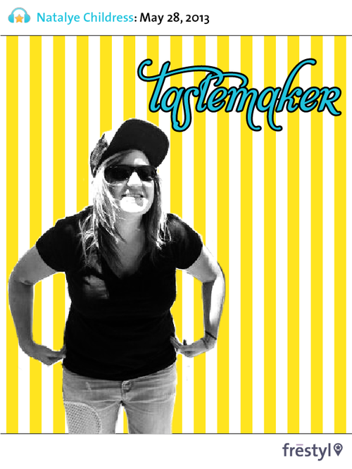 "FRESTYL Tastemaker of the week Hello hello hello frestylers! How is it Tuesday already? Tuesday is #tastemaker time, so allow us to introduce Natalye Childress, our #tastemaker of the week. You can find her over in the editor's office of Berlin Beat, where she puts her passion for music to work and brings a little west coast sunshine over to Berlin. Take it away Natalye… In a couple of hours you'll receive her recommendation for upcoming live music events in #Berlin. Curious? Quick, subscribe to our newsletter and check your inbox after lunch! Hallo #tastemaker, who are you?  I'm Natalye, a California-born music journalist, writer, editor, and author! I love cats, vegan food, road bikes, the ocean, and mixtapes. First live music show of your life? My parents took me to see the Beach Boys performing on the Santa Cruz Beach Boardwalk, sometime in the late 80s, which I only somewhat recall. The first real concert that I fully remember was in the early 90s when my dad took me and one of my siblings to see country singer Randy Travis. Comedian Jeff Foxworthy was the opener - you know, the ""you might be a redneck if…"" guy. What about the last one? Last week I interviewed Crystal Fighters and then saw them perform at Lido. They have a fantastic stage presence and the (sold out) crowd ate it up. It's rare that I say this, as I prefer intimate shows to big huge ones, but Crystal Fighters are definitely a perfect festival band; their music and antics are just so fitting for getting large groups of people excited! Best music event attended in Berlin? I go to multiple concerts every week so it's not easy to choose. That said, I have really loved the annual Indie Pop Days and Popfest Berlin festivals because they bring together such talented people from all over the world and emphasize the community ties of the indie pop/twee/C86 genres. As far as best and consistent sound overall, every time I see Purity Ring, my heart soars. And finally, the most fun I have ever had at a show was Astronautalis performing on Valentine's Day in 2012. Not only is he a talented musician, but he is hilarious and a total badass. Track of the week? If it's a live track, we'll love it even more. ""Strong Talk"" by PTTRNS. Not only is this German band super catchy and tons of fun live, but this video was filmed in Berlin and is pretty fascinating to watch, as it subverts the standard music video format. ——- Hope you enjoyed the chat, and if you want to be the next #tastemaker, just drop us a tweet!  :: the frestyl ladies"