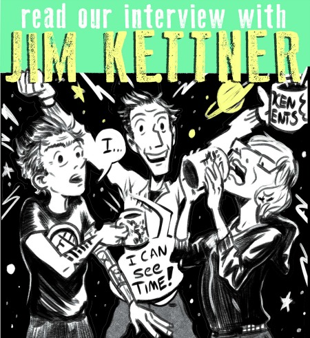 "SILVER SPROCKET Interview with Jim Kettner Jim Kettner's contribution to As You Were: Living Situations provides readers with a glimpse of life at the infamous Philly punk house Book House. But these days, Kettnerd calls Portland his home. Read more to find out about his recent nuptials and forthcoming book, tips for giving your punk house a good name, and what exactly a ""cool bag"" is. Interview by Natalye for Silver Sprocket What have you been doing since we last talked to you? Well, I've been super duper busy the past couple of years. Some of that has been professional and some of it has been personal. The biggest craziest most life altering things were that I got engaged on Space Mountain, got married a few months later, found out that I got a book deal with my wife while we were on our honeymoon, and then relocated from Oakland to Portland. This was all between January and August of 2015, so it felt really non-stop. I definitely felt like I was living several years of big events in just a few months. And in that time, I was also privileged to continue teaching comics classes at a few Bay Area colleges, and I attended a great comics residency at the Atlantic Center for the Arts with A.D. author/cartoonist Josh Neufeld. So yeah, all of that. Plus drawing some short comics for magazines, illustrating the cover for theTørsö record, and getting started on this new graphic novel. Whew… I'm tired just typing that. (EDITOR'S NOTE: Kettnerd also contributes to two podcasts, Galaktacus and Adult Crash.) You got married! Hooray! Celebrating love is awesome. Tell us more. My wedding was pretty nuts. Like, geez. I dunno. Getting married might seem like the least punk thing ever. I've been to so many dumb weddings, I mean… not that getting hitched is inherently dumb, but there are a lot of aspects to traditional weddings that I think we can all agree are pretty bogus. But hey, celebrating love and hanging with your best homies is great, so it was really important to me and my wife (still getting used to saying that) Lacy that we create a fun day for us and our friends to remember. I had a couple of very specific requirements. I had always thought that weddings were backward, you know? Like there's this ceremony that's supposed to be the important part, but then on the day, I've seen it sort of rushed through just so we can then worry about getting grandma to the buffet. So I wanted to flip it and have things that were still surprising and spontaneous. It was basically a field day event/BBQ hangout at a picnic site. We had a bounce house and a high striker (you know, the ring-the-bell-with-the-hammer thing). I had designed a bunch of game events like bocce and croquet, and a sack race, and had all of these custom trophies made up for all the events. AYW contributor Ramsey Beyer actually won the bounce house competition for ""Most Brutal Bounce."" Lacy and I didn't know when the ceremony was going to take place. We entrusted our best friend Monica with the ""wedding horn,"" which sounded at a random time of her choosing—at which point we dropped what we were doing and raced to the mystery spot lookout point where we said our vows. All our guests were led up to this mystery spot and we improvised our vows. It was so fun and silly. Great vegan food. We had a DIY YouTube karaoke afterparty at our gym and sang Gorilla Biscuits and Bikini Kill. It was excellent. So now your first big task as a married couple is writing a book together… The book was a long time coming. It was a project that had been in development at one publisher. So there had been a pitch with sample pages I had drawn and it had moved along quite a bit, and then the editor who was working with us left the publisher and it flatlined. Months later, I was contacted by a friend who was working for New Harbinger Publications. They were looking to get into the graphic novel game and he was contacting me about potentially being an illustrator for a project if they found a good one, and ""Oh by the way, do you know anyone who writes about health and wellness issues?"" And I was like ""Well… me and Lacy already have a pitch book of her memoir about eating disorder recovery…"" So from there we had some meetings. We made another revised pitch book with new sample pages. The process of making art just to show to publishers is its own special pain in the ass, because as you're working on them, you are almost positive that the work won't be in the final book. But anyway, we put that out there and then moved on to the craziness of planning the wedding. It was easy to not worry or obsess about it because, again, planning and prepping for a wedding takes up a lot of brain space. And it wasn't until we were on our honeymoon in Kauai, where we are already at this level of insanely happy newlyweds in paradise stoked, that we got the email with the green light for the project. Their only real note: Make it MORE PUNK. It is pretty exciting, and right now this book, tentatively titled Ink In Water, is my full-time job. I have an October deadline for a 224-page project. Lacy only finished her full draft around the new year, and since then, I've been trying to stay on a page a day schedule. I started the final art on January 7, and I'm currently closing in on page 50. So it is a pretty nose-to-the-grindstone life from here until October. But hey, can't complain. Dream Job. Since you seem to be the As You Were expert on punk houses, what would you say is the criteria for choosing a good name for a punk house? Ha! I don't know if I'm an expert. There were so many good contributions and experiences represented inIssue 4. That being said, I feel like a good punk house name just has to come out of its personality. You shouldn't force it. Take into account the personalities of the housemates, the aesthetics of the place, the location. These could all be good cues to draw from, but for the most part, I feel like you should live someplace a couple of weeks before you decide on a nickname. What is the ""cool bag?"" Oh my gosh… I just sort of realized that it is only inferred in my AYW story and maybe not very explicit. OK. So, a cool bag is a silly as hell, fun, and cheap way to cool down on a hot summer night. All you need is a garden hose and extra durable industrial strength Hefty bags. Climb in the bag. Tie it close around your neck. Insert hose. Turn on faucet. Chill the eff out. It is super fun, just like a person-sized pool. It's sort of like a kiddie pool, but more like a pod. A swimmy pod. OK, maybe I'm not selling this super well. But trust me. On a super hot sticky August night in Philly, it was pretty awesome. You mentioned in your last interview that studying writing helped you a lot when it comes to trimming the fat and narrowing in on the narrative in your comics. For this newest contribution, are there any things about Book House or memories from there that didn't make the cut? What were they? Yeah, gosh. That story was really tough because I wanted to include so much, and looking back the narrative feels so crammed, but I so didn't want to leave anything out. But yeah, I did omit a few of the other silly things we did. Like, for a while, we had a season-long couch surfer named Craig. He basically spent a winter on our couch… which I should note, we called the mom couch, because it was made of the kind of denim you usually see in mom jeans. Anyway, Craig made a blanket fort that lasted for seriously three months. It was big enough for most everyone in the house to get in and watch TV together. I don't know if you know this, but Philly houses have notoriously bad heat. So winter hangs are all about bundling. That was pretty great. If you had to choose one artistic piece of output of yours (comic or otherwise) that would be representative of who you are to show someone who is not familiar with your work? This question is tough. Really, I guess it's another fire under my ass because it doesn't exist yet. I sort of think, in terms of visual art, I'm making the best work of my career on the book I'm drawing right now. It's definitely the comics work I'm the most proud of in terms of visual storytelling/illustration. But while I definitely am helping write it in terms of editing and adapting it to a comics format, ultimately it is Lacy's writing, and readers will get a much better sense of her than me when they read it. I have another graphic novel project (that is on the back burner right now) about my time working answering phones for an escort agency. That is a comics project that is in many ways the most personal auto bio kind of thing that I've made. I also have a draft of a prose fantasy novel in progress. Neither of these works are published (yet), but I do share them with friends and colleagues looking for feedback, and every time I am aware of how close the work is to me. Like, ""Hey this is me, I hope you don't hate it."" But out of the work that is actually out in the world, so much of it is either super short or freelance/collabs with other writers, so I don't know how much of me is in it. The stuff in AYW is a decent representation in short chunks though. I would probably hand someone AWY #2, 'cause I just think that mosh story is really funny, even though I wince at some of my poor lettering and sloppy drawing. What makes you excited about comics / making art in general? When it comes down to it, I really just love telling stories. I get excited about it almost every day. I mean… part of me has to if I want to make deadline. But often I sit down at my tablet (I made the switch to all digital work last year, so that happened too), and I see the given challenges on my next page. And I might have to do a tricky bit of character acting with my drawings in a scene, or draw a big crowd in an establishing shot and make all the people seem real and unique. I'll read something funny my partner wrote that I get to draw and feel inspired. I also try to pick my head up from drawing every once in a while. And when I see other folks, artists, or whoever crushing their goals and making good things, doing good work, I feel stoked and inspired to bring my best to what I'm making. That could be the novel I'm listening to (I Audible non-stop when drawing), or the latest demo I downloaded from Bandcamp, or seeing other cartoonists doing very good work. How do your life and your comics inform one another? Real life and comics are constantly informing one another. Sometimes it's the content that seeps into stories. Sometimes it's how I work. For instance, since Lacy and I are both super busy workaholic types who are freelance… basically we could live life never taking breaks until we drop from exhaustion, so we try to keep pretty strict rules about calling it quits by a certain hour and making sure we spend time together chilling out. Your past two contributions to AYW have been autobiographical. Do you think that one day you will make comics about this period in your life? Absolutely! I mean, there is always the instinct to look back, especially for AYW and depending on the theme of the issue. But I think there's storytelling potential everywhere. I mean… I don't know if I would ever write a 200-page graphic novel about this time where I am intensely illustrating a 200-page graphic novel, but there are definitely funny moments and stories that are worthy of short strips, and the story of planning our wedding could definitely make a fun short story. Off the top of your head, who are some artists whose work you love that fans of your comics should check out? Oh boy. Paul Pope and Jaime Hernandez always and forever. Ursula LeGuin. Jessica Abel. Walt Simonson.Nate Powell. Kelly Sue DeConnick. Alan Brown. Greg Rucka. Liz Prince. Joe Abercrombie. Michael Chabon.Brian K. Vaughan. I could go on and on. I don't know how much of me you'll see in these folks' work, but it is a big melting pot of influences that inform my work all the time. What question do you like to be asked / wish you were asked but never were… and what's the answer? Hrm. I feel like… it's really tough for an artist to make a living, and generally I wish people were more aware about this stuff when requesting work from illustrators and cartoonists. People are generally clueless about how long certain projects take/what fair compensation should look like. I guess I'd like the average person who asks about my work to be a little more aware of that. People who don't draw look at work and think it's magic. Like you snap your fingers and it happens, and why should they have to pay for it. This is probably just some saltiness from freelance gigs showing through. But I wish more employers/clients asked about it. Also, does your drawing hand hurt? And Yes. Yes it does. If you haven't yet seen Kettnerd's contribution to As You Were: Living Situations, get yourself a copy straight away.While you're at it, check out his website. For a sneak peek at some pages of Ink In Water, you can also follow him on Instagram."