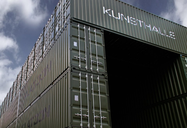 UNLIKE CITY GUIDES Platoon Kunsthalle - Canned culture Pieced together from dozens of empty cargo containers, Platoon Kunsthalle appears an industrial anomaly. But the question of its purpose and placement is the exact point: the multi-use urban playground was formulated as an experimental think tank. Inside its walls, the community is encouraged to congregate and innovate, with exhibitions, workshops, and events. This intersection of subcultures takes on limitless forms, as it seeks to restructure the borders between the convention and its deviations.