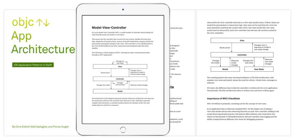 OBJC.IO App Architecture   Copy editor for a book about  iOS application architectural patterns and their implementation techniques .
