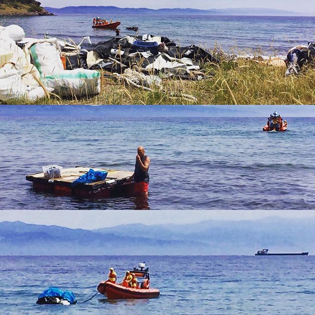 Thanks for the amazing teaming with Proactiva we could outload 2 trips of rubish from Theodora beach! #cleanbeaches #ecoproject #proactiva #lighthouserelief