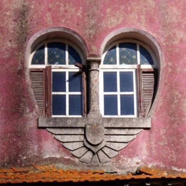 A window to the heart.
