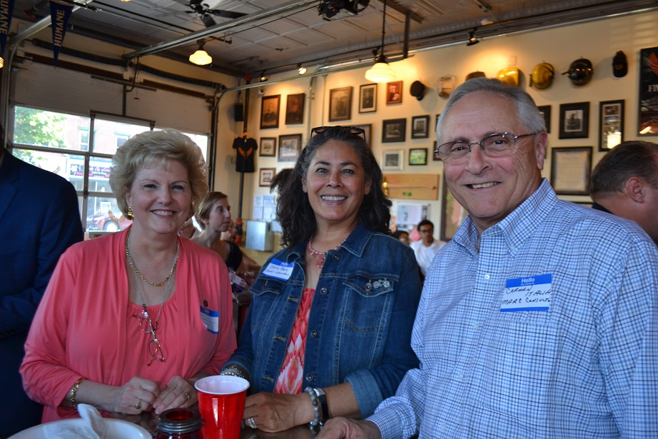 Norristown Chamber of Commerce event at Five Saints (2).JPG