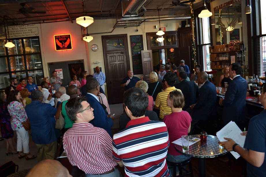 Norristown Chamber of Commerce event at Five Saints (14).JPG