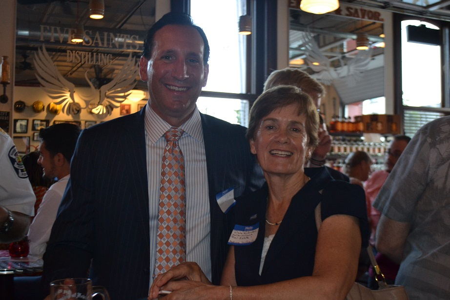 Norristown Chamber of Commerce event at Five Saints (20).JPG