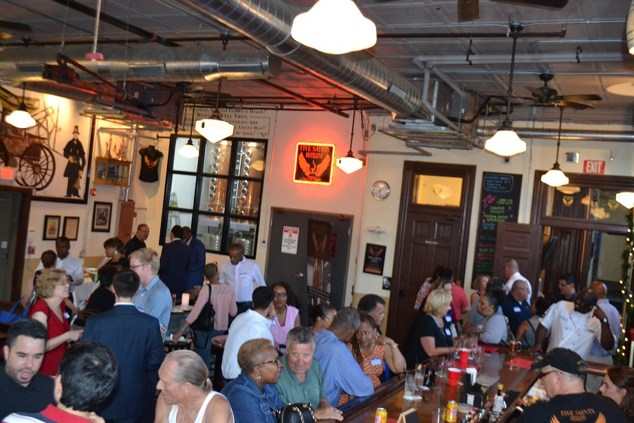Norristown Chamber of Commerce event at Five Saints (25).JPG