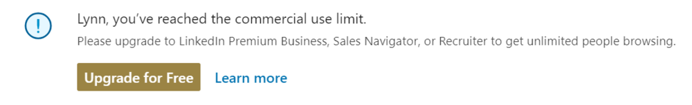 Oh, LinkedIn, how can you do this to me? Every. single. month.