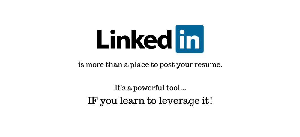 Leverage LinkedIn - a NEW Online Course — Lynn Carroll