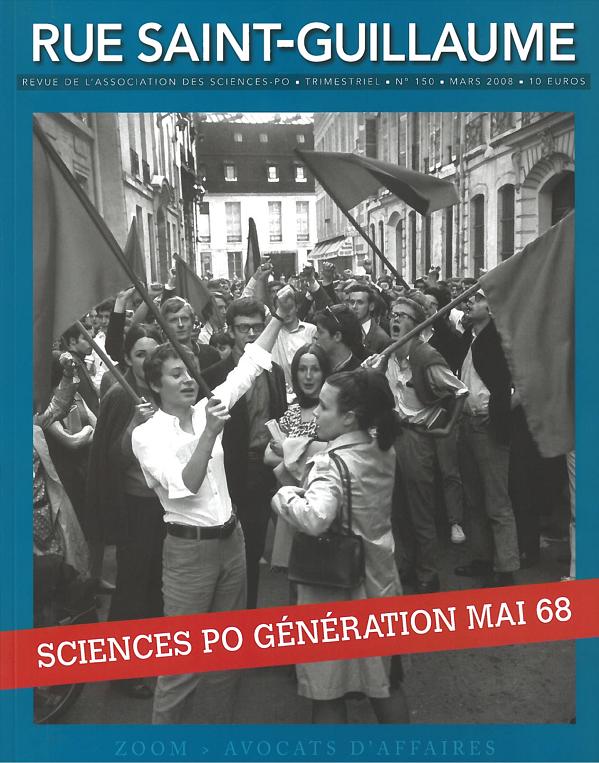 Rétrospective de mai 68 à Sciences Po dans notre revue en 2008.