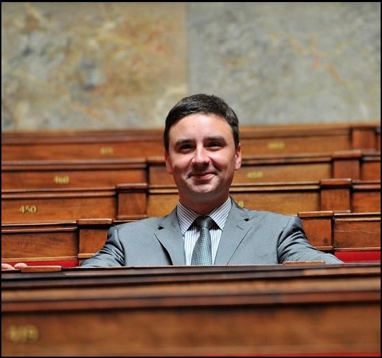 Laurent Grandguillaume, député socialiste de Côte d'Or, élu en 2012