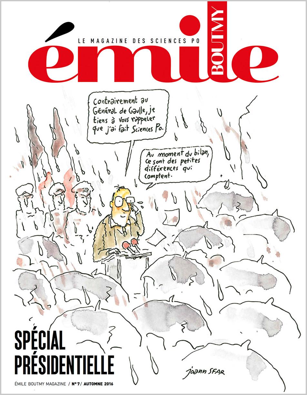 Couverture Émile n° 7
