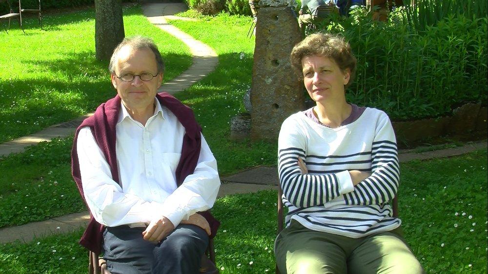 Ferenc et Orsi, villageois bénévoles