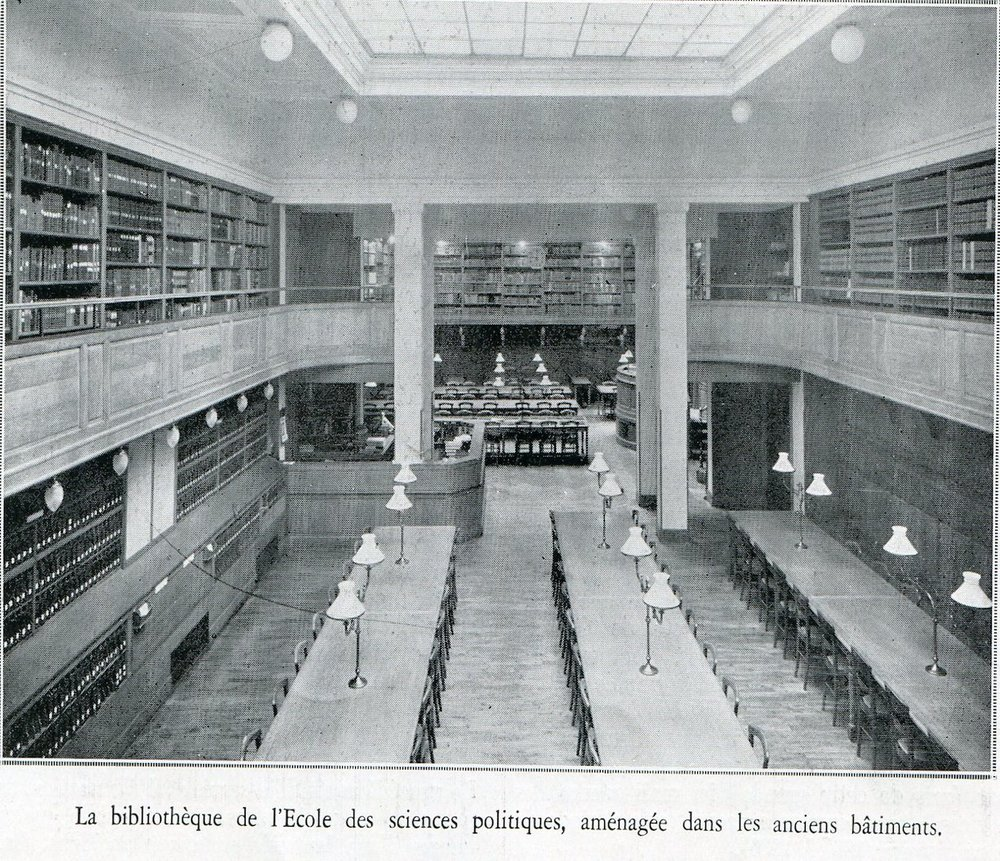 L'illustration (Archives) – Sciences Po en 1935