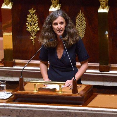 Élise Fajgeles, députée de la 5ème circonscription de Paris, et rapporteure de la loi Asile et Immigration